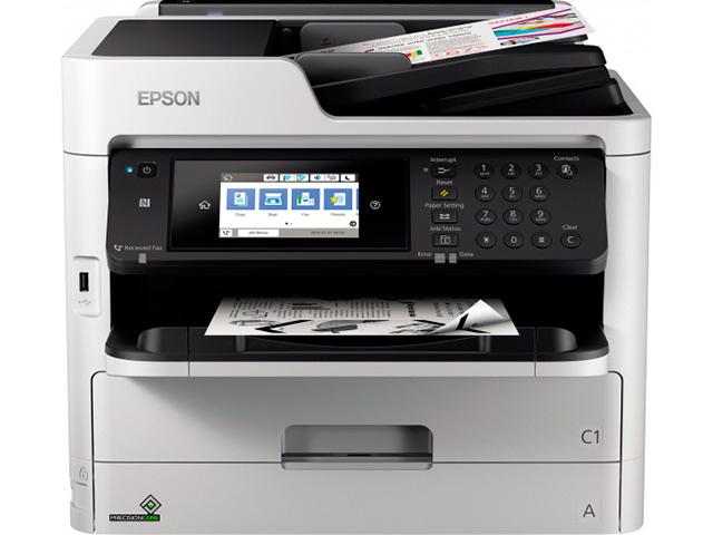 Фото - МФУ Epson WorkForce Pro WF-M5799DWF C11CG04401 принтер epson workforce pro wf 6090dw c11cd47301 a4
