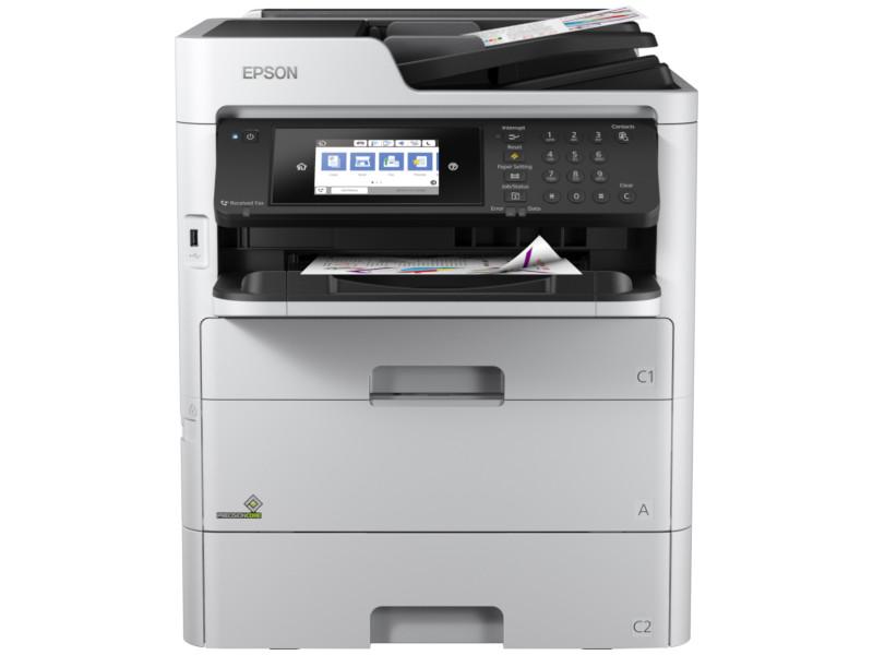 Фото - МФУ Epson WorkForce Pro WF-C579RDWF C11CG77401BU принтер epson workforce pro wf 6090dw c11cd47301 a4