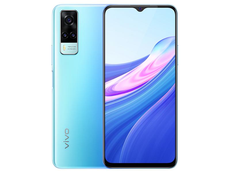 Сотовый телефон Vivo Y31 4/128Gb Ocean Blue Выгодный набор + серт. 200Р!!!