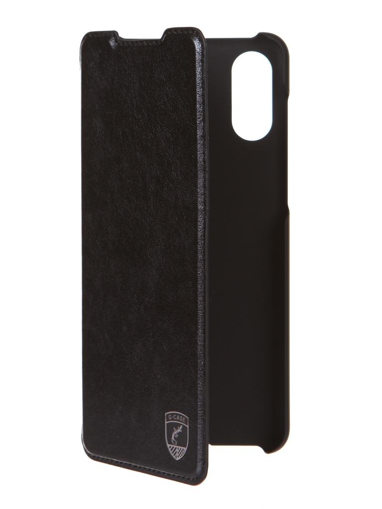 Чехол G-Case для Samsung Galaxy A02 SM-A022G/DS Slim Premium Black GG-1354