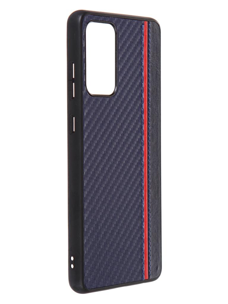 Чехол G-Case для Samsung Galaxy A72 SM-A725F Carbon Dark Blue GG-1361