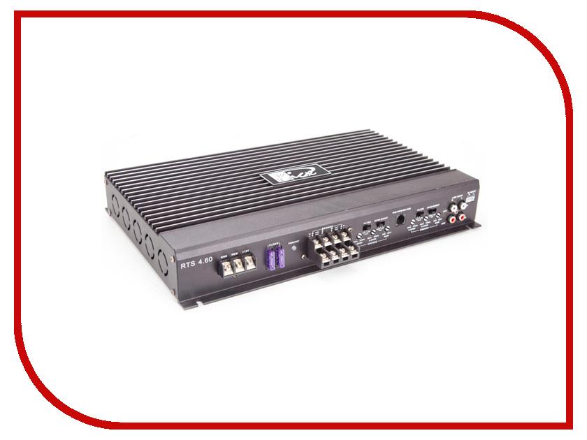Усилитель Kicx RTS 4.60 усилитель автомобильный kicx rts 2 60 черный