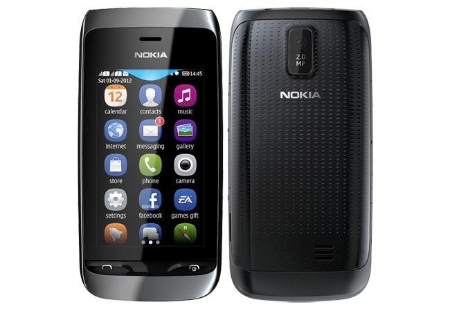 Сотовый телефон Nokia 310 Asha Black