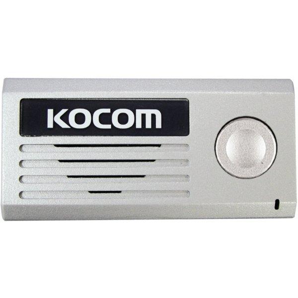 Вызывная панель Kocom KC-MD10 Silver вызывная панель dvc 414si color silver