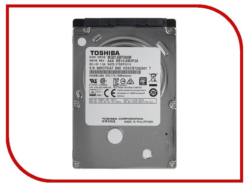 Жесткий диск 500Gb - Toshiba MQ01ABF050M toshiba p300 hdwd130uzsva