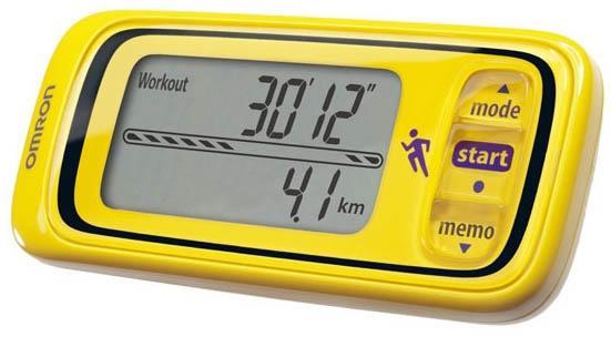 Шагомер Omron HJA-300-EY Yellow шагомер omron hja 306 epk розовый