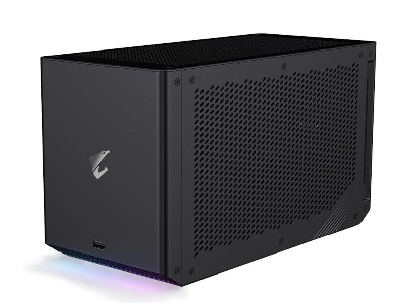 Видеокарта GigaByte GeForce RTX 3080 Aorus Gaming Box 1710Mhz PCI-E 4.0 10240Mb 19000Mhz 320 bit 2xHDMI 3xDP GV-N3080IXEB-10GD