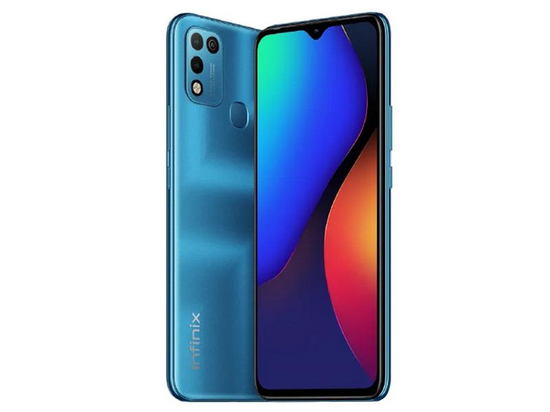 Сотовый телефон Infinix Hot 10 Play 4/64Gb Aegean Blue