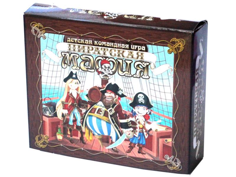 Настольная игра Десятое Королевство Пиратская мафия 04193