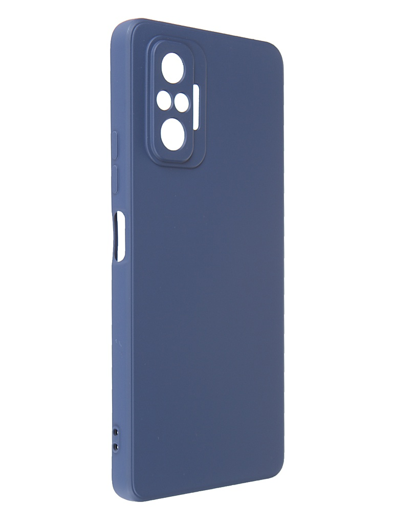 Чехол G-Case для Xiaomi Redmi Note 10 Pro Silicone Dark Blue GG-1367