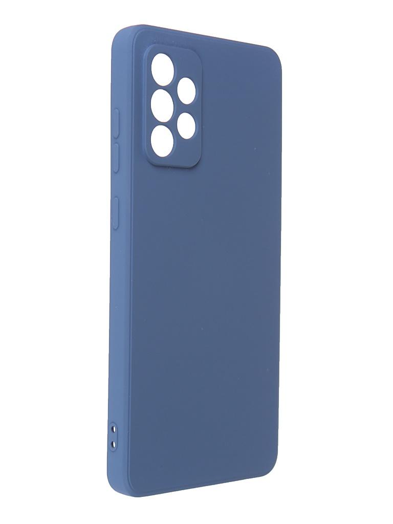 Чехол G-Case для Samsung Galaxy A72 SM-A725F Silicone Dark Blue GG-1383