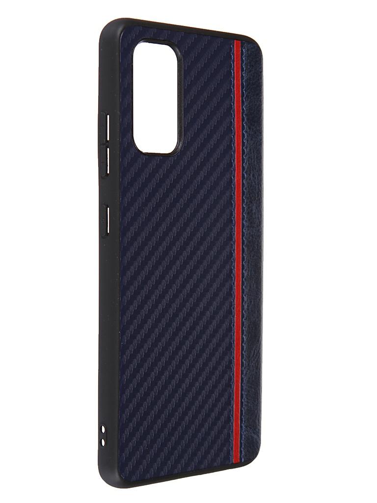 Чехол G-Case для Samsung Galaxy A32 SM-A325F Carbon Dark Blue GG-1387