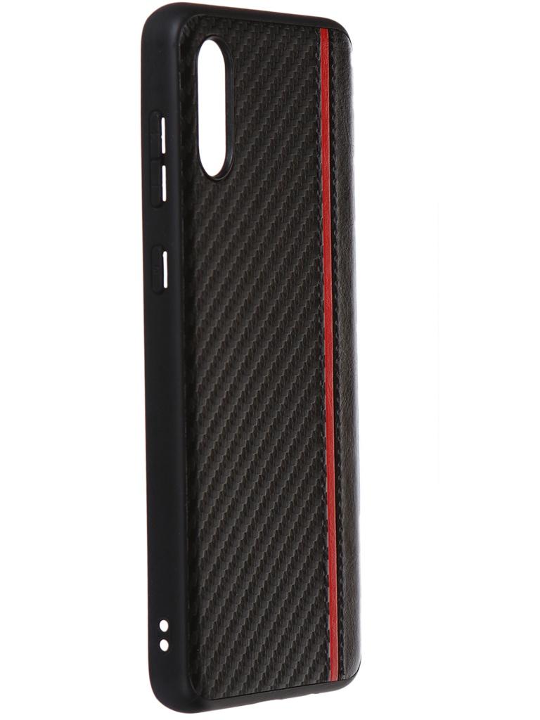 Чехол G-Case для Samsung Galaxy A02 SM-A022G / DS Carbon Black GG-1390 чехол для samsung galaxy j5 prime sm g570f ds gecko flip case серебристый