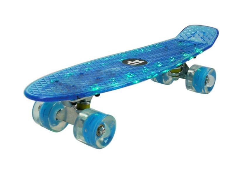 Скейт DS 22 LED Blue