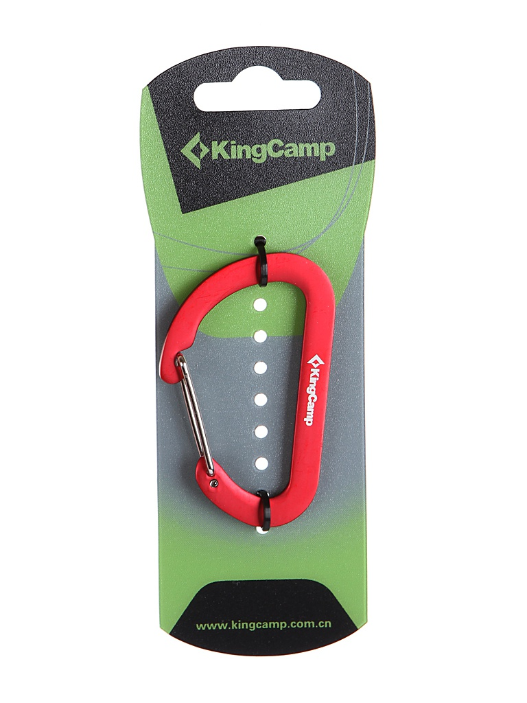 Брелок KingCamp D-Shape Carabiner 8014