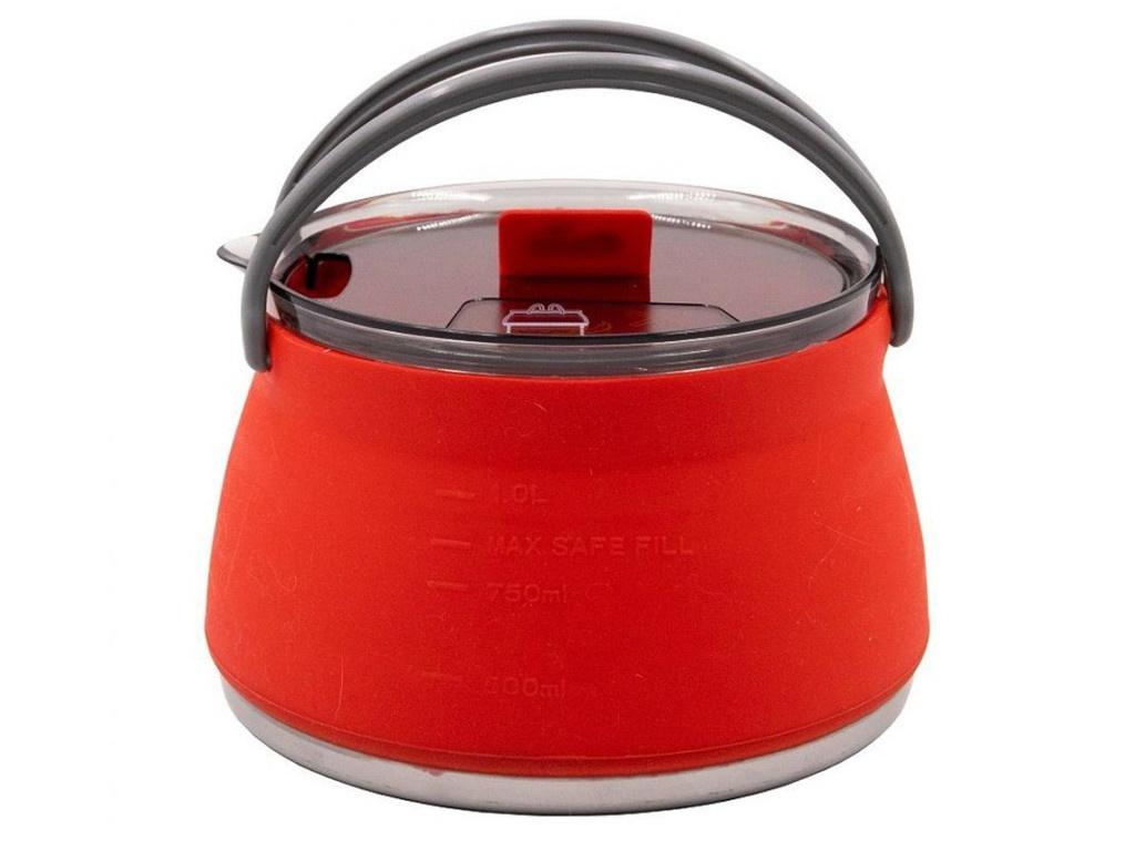 Чайник силиконовый Tramp 1L Terracotta TRC-125
