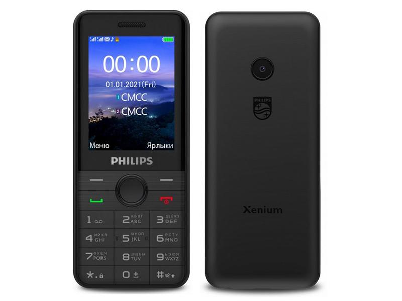 Фото - Сотовый телефон Philips E172 Xenium Black телефон philips xenium e117