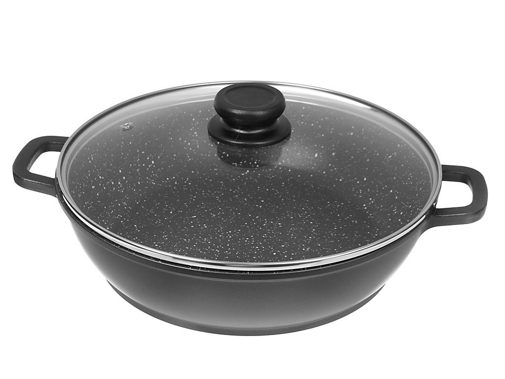 Сковорода Забава Яшма 28cm 4.5L РК-900