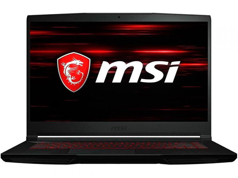 Фото - Ноутбук MSI GF63 10UD-416RU 9S7-16R512-416 (Intel Core i7-10750H 2.6GHz/8192Mb/512Gb SSD/No ODD/nVidia GeForce RTX 3050 Ti 4096Mb/Wi-Fi/Bluetooth/Cam/15.6/1920x1080/Windows 10 64-bit) ноутбук msi stealth 15m a11sdk 032ru 9s7 156211 032 intel core i7 1185g7 3 0ghz 16384mb 512gb ssd nvidia geforce gtx 1660 ti max q 6144mb wi fi bluetooth cam 15 6 1920x1080 windows 10 64 bit