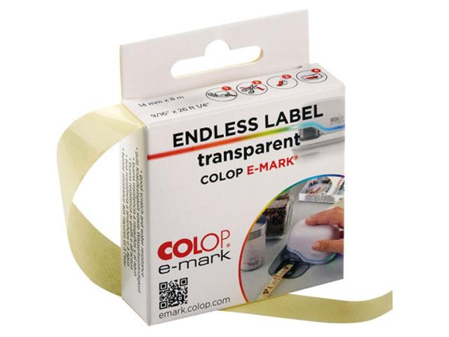 Клейкая лента Colop e-mark 14mm x 8m Transparent 39199080/155362