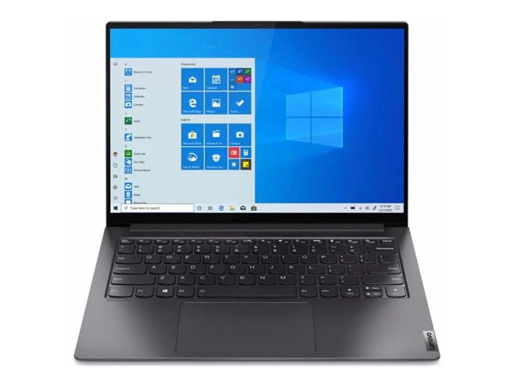 Ноутбук Lenovo Yoga S7 Pro 14IHU5 Grey 82NC0015RU (Intel Core i5-11300H 2.6 GHz/8192Mb/256Gb SSD/Intel Iris Xe Graphics/Wi-Fi/Bluetooth/Cam/14.0/2240x1400/Windows 10)