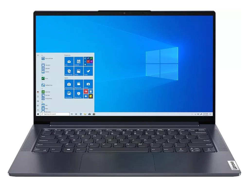 Ноутбук Lenovo Yoga Slim 7 14IIL05 82A100HARU (Intel Core i5-1035G4 1.1 GHz/16384Mb/1Tb SSD/Intel Iris Plus Graphics/Wi-Fi/Bluetooth/Cam/14.0/1920x1080/Windows 10 Home 64-bit) ноутбук lenovo yoga slim 7 15iil05 82aa0029ru выгодный набор серт 200р intel core i5 1035g4 1 1 ghz 8192mb 256gb ssd intel iris plus graphics wi fi bluetooth cam 15 6 1920x1080 windows 10 home 64 bit
