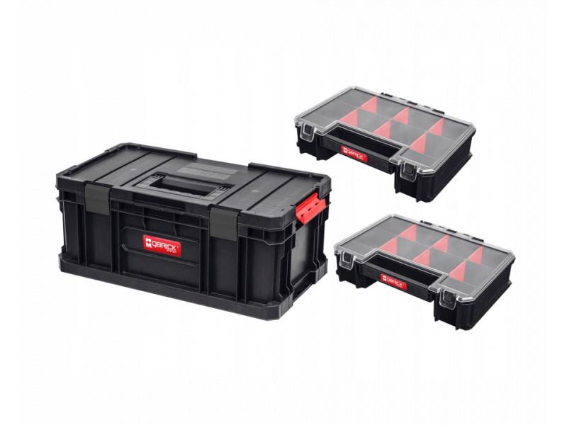Ящик для инструментов QBRICK System Two ToolBox + Organizer Multi (2шт) 526x307x221mm 10501287