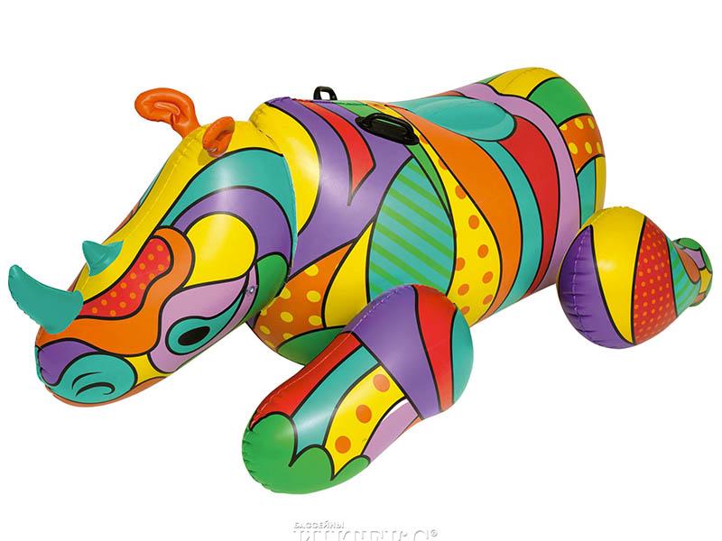 Надувная игрушка BestWay POP Носорог 201x102cm 41116