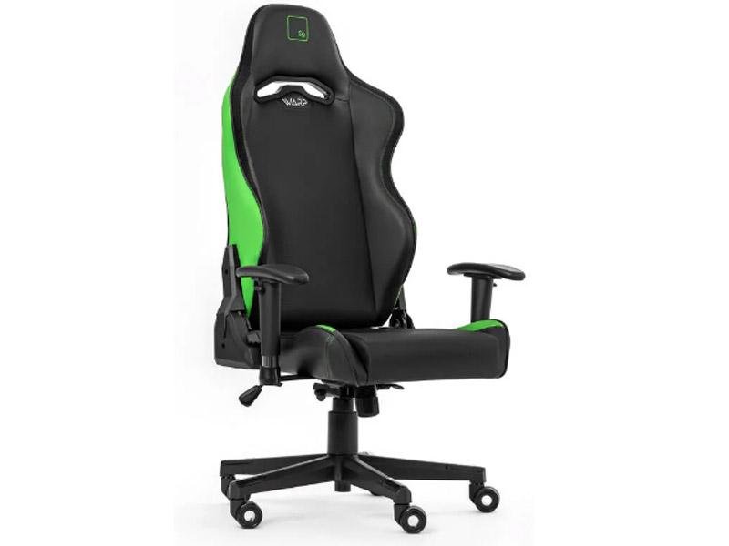 Компьютерное кресло Warp Sg Black-Light Green SG-BGN