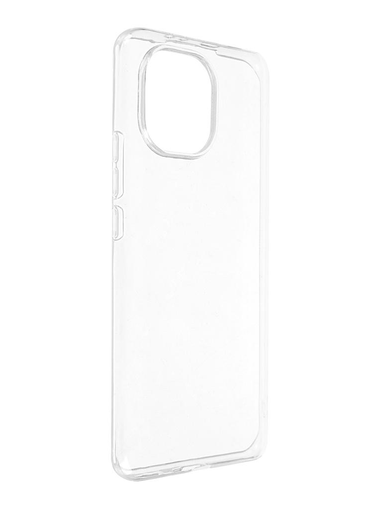 Чехол Pero для Xiaomi Mi 11 Silicone Transparent CC01-0045-TR