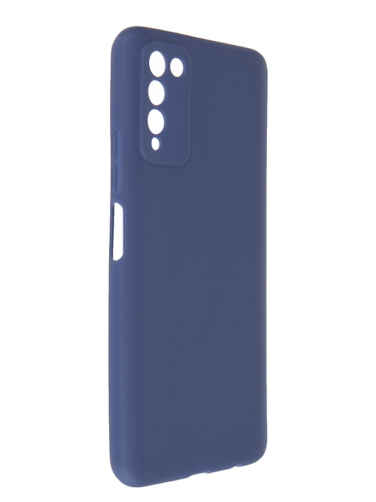 Чехол Pero для Honor 10X Lite Soft Touch Blue CC1C-0057-BL
