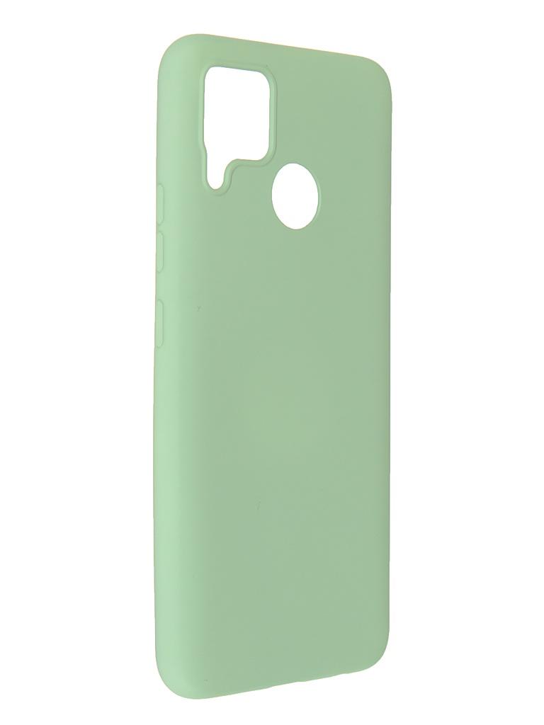 Чехол Pero для Realme C15 Liquid Silicone Green PCLS-0059-GN
