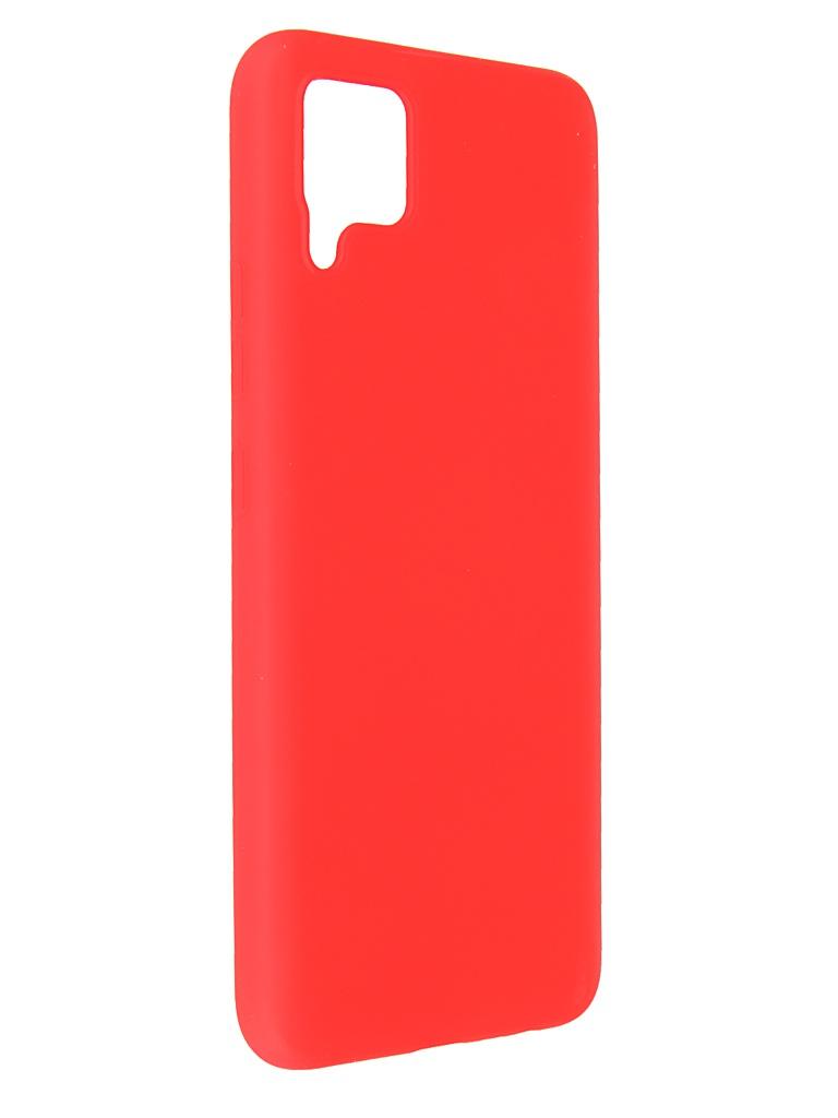 Чехол Pero для Realme C11 Liquid Silicone Red PCLS-0060-RD