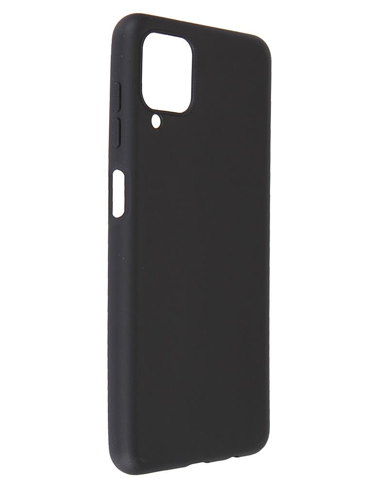 Чехол Pero для Samsung Galaxy A12 Soft Touch Black CC1C-0043-BK