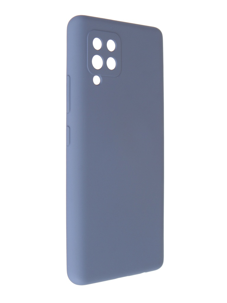 Чехол Pero для Samsung A42 Liquid Silicone Grey PCLS-0045-GR