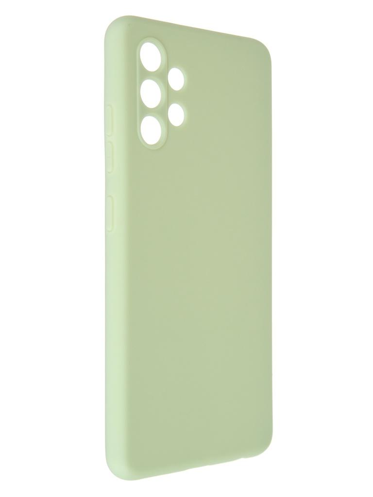 Фото - Чехол Pero для Samsung Galaxy A32 Soft Touch Mint CC1C-0047-GN ультратонкая защитная накладка soft touch для samsung galaxy a32 с принтом улыбка чеширского кота черная