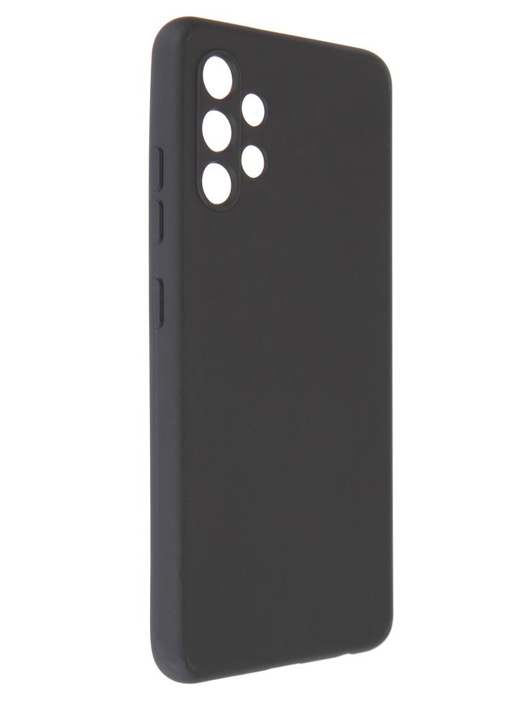 Фото - Чехол Pero для Samsung Galaxy A32 Soft Touch Black CC1C-0047-BK ультратонкая защитная накладка soft touch для samsung galaxy a32 с принтом улыбка чеширского кота черная