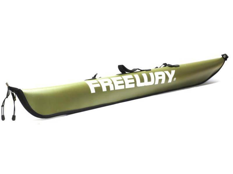Чехол для удилища Freeway 1.25m Green 184370