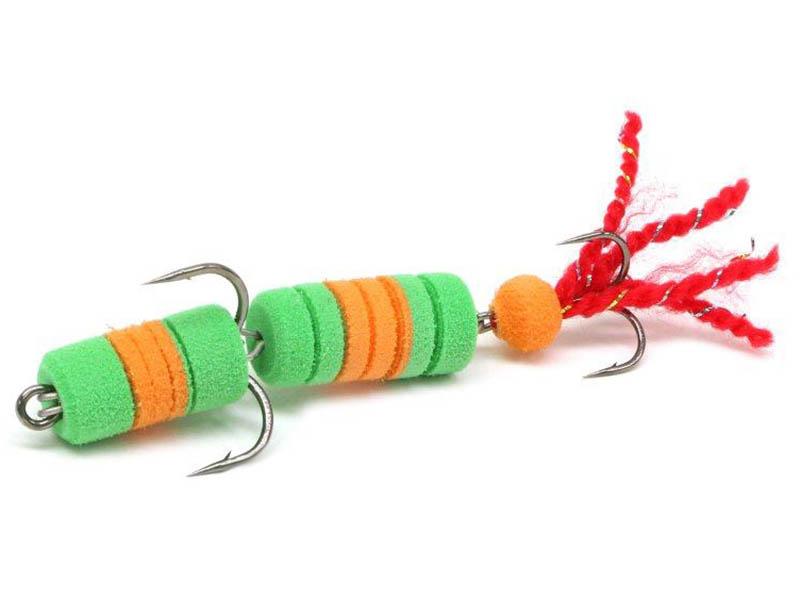 Приманка Lex Premium Creative 70 Green-Orange-Green 232838