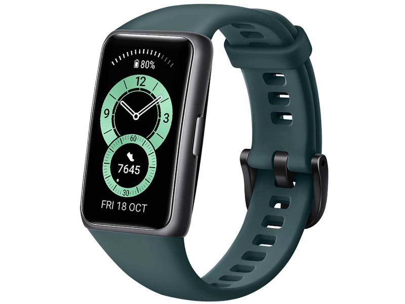 Умный браслет Huawei Band 6 Forest Green 55026631 Выгодный набор + серт. 200Р!!!