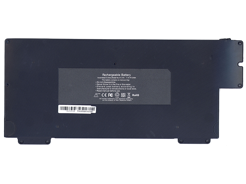 Аккумулятор Vbparts для Apple MacBook Air 13 7.4V 4400-5200mAh OEM 006334