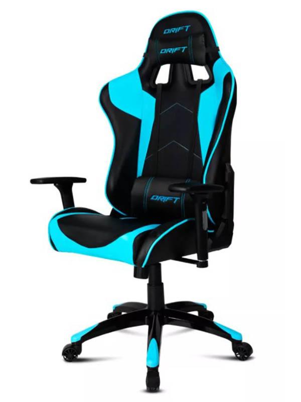 Компьютерное кресло Drift DR300 PU Leather Black Blue