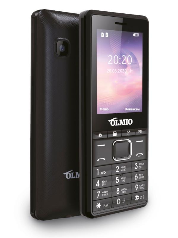 Сотовый телефон Olmio A25 Black 42527 сотовый телефон strike f10 black