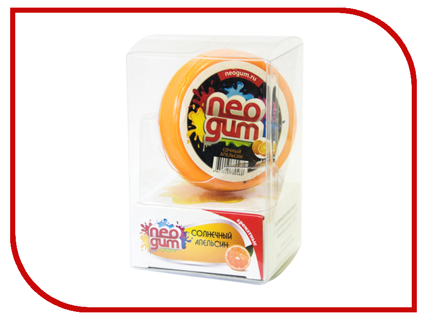 Жвачка для рук Neogum Сочный апельсин NG7026 жвачка для рук меняющая цвет