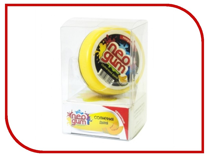 Жвачка для рук Neogum Солнечная дыня NG7008 жвачка ригли сперминт