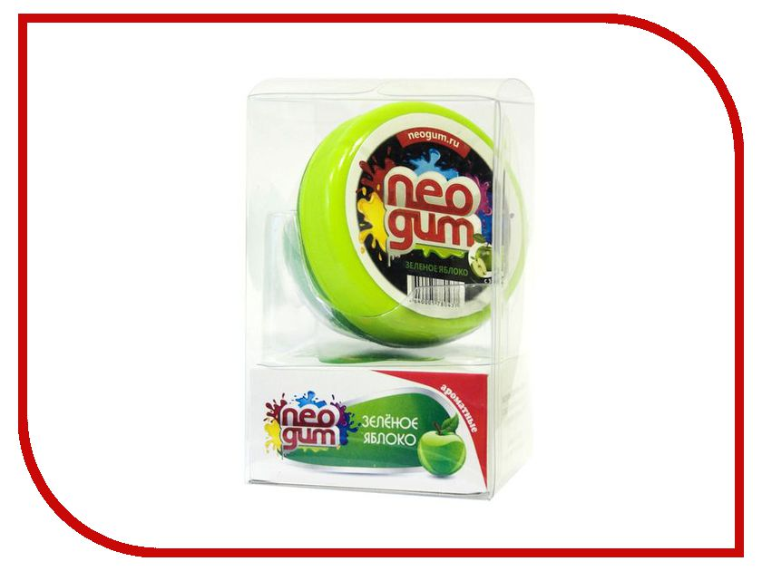 Жвачка для рук Neogum Зеленое яблоко NG7029 жвачка для рук голубая лагуна neogum