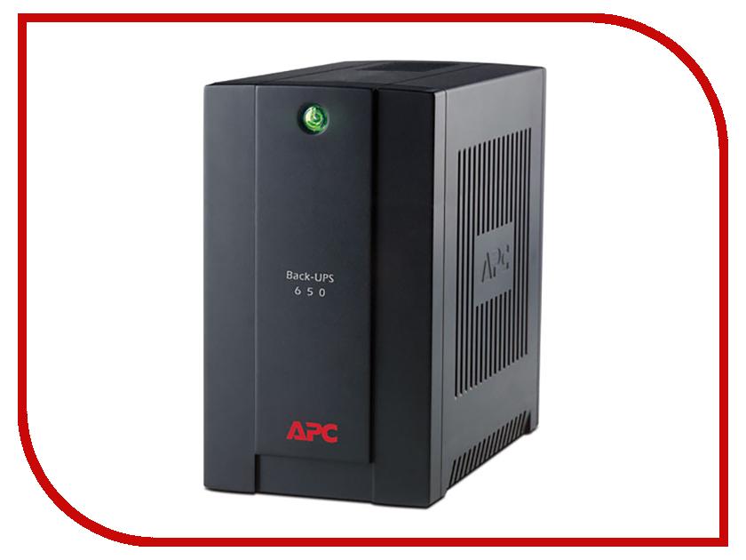 Источник бесперебойного питания APC Back-UPS 650VA 390W BX650CI-RS ибп apc back ups rs 650va bx650ci rs