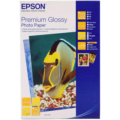 Фотобумага Epson Premium Glossy Photo Paper C13S041729 фотобумага epson c13s042535 photo paper glossy a3 200g m2 20 листов