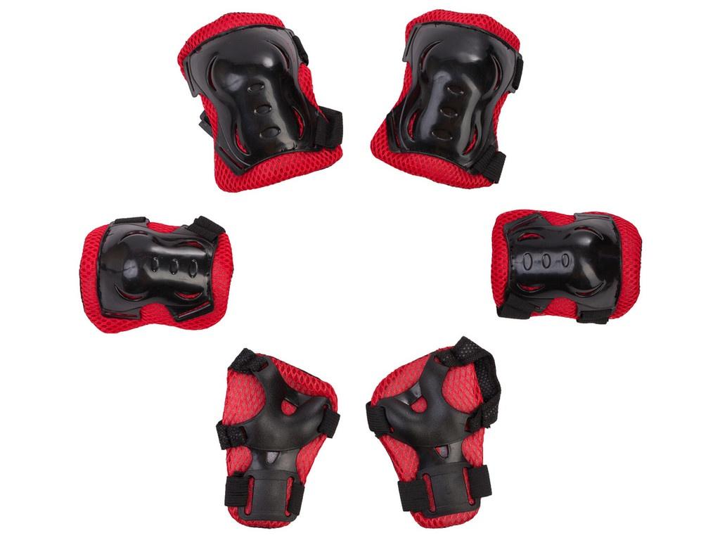 Комплект защиты Sxride JKT01 3-12 лет Black-Red JKT01RED01