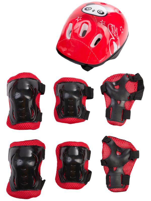 Комплект защиты Sxride JHT01 5-15 лет Panda Red JHT01RED01
